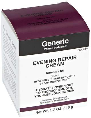 Olay Generic Value Products Evening Repair Cream Compare to Night Recover Cream Moisturizer