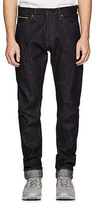 Edwin Men's Raymon Selvedge-Denim Slim Jeans - Navy