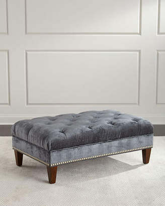 Massoud Fontaine Tufted Storage Ottoman