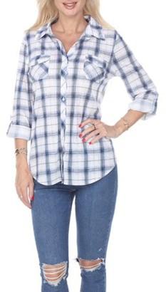 Oakley White Mark Women's Plaid Top