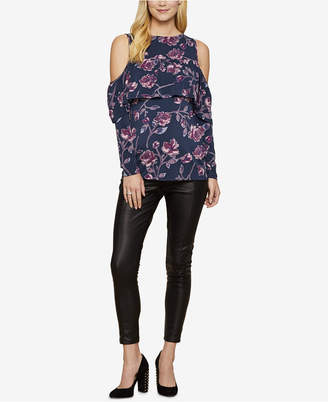 Jessica Simpson Maternity Faux Leather Skinny Pants