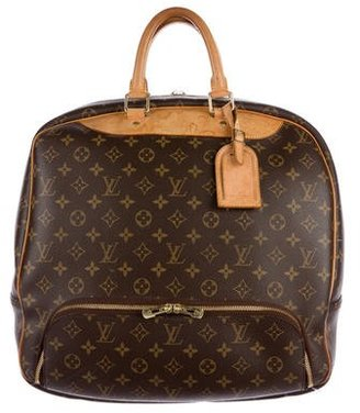 Louis Vuitton Monogram Evasion Boston Luggage $895 thestylecure.com