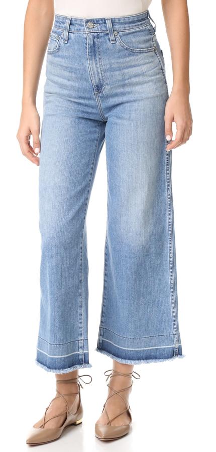 AG JeansAG The Yvette Wide Leg Ankle Jeans