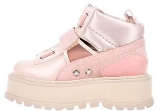 FENTY PUMA by Rihanna Leather Sneaker Boots