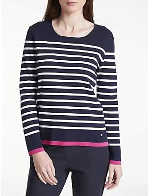 Gerry Weber Long Sleeve Stripe Jumper, Multi