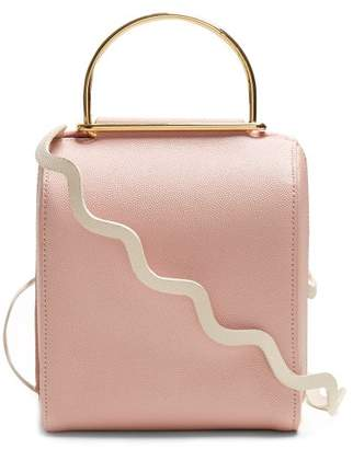Roksanda Besa Top Handle Leather Shoulder Bag - Womens - Pink Multi