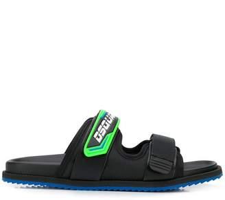 ab3cfa572 DSQUARED2 logo strap sandals