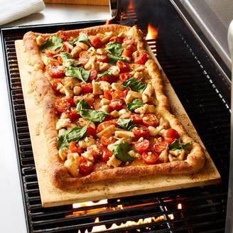 "Sur La Table Cordierite Pizza Stone, 22"" x 13"""