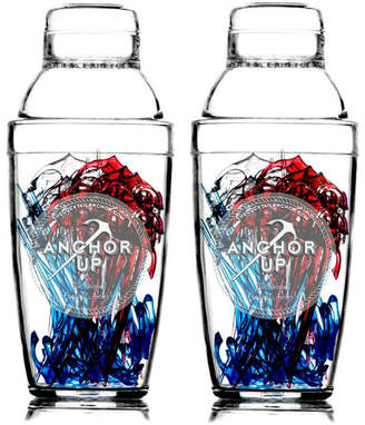 Studio Nicco Anchor Cocktail Shakers (Set of 2)