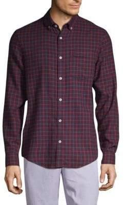 Original Penguin Checker Button-Down Shirt