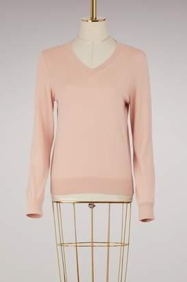 A.P.C. Edina cotton and cashmere sweater
