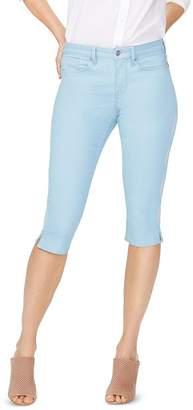 NYDJ Embroidered Skinny Capri Jeans in Mica