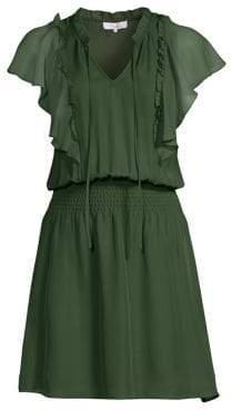 Parker Remington Ruffle Mini Dress