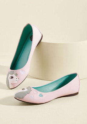 In Love With Unicorn Flat in Petal in 10 $54.99 thestylecure.com