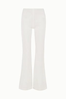 Galvan Ponte Flared Pants - White