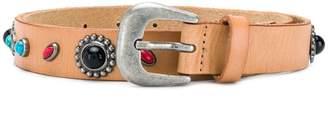 Twin-Set stone embellished belt