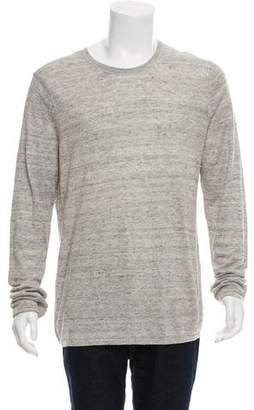 Vince Layered Linen Sweater