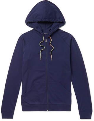 Paul Smith Slim-Fit Cotton-Jersey Zip-Up Hoodie