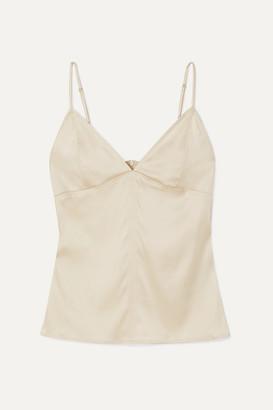 Bottega Veneta Stretch-silk Satin Camisole - Ivory