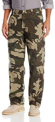 Wrangler Authentics Mens Fleece-Lined Cargo Pant