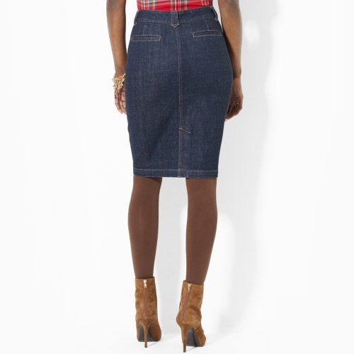 Lauren Ralph Lauren Ralph Denim Pencil Skirt