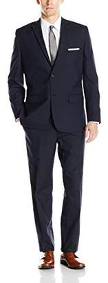 Greg Norman Men's Two Button Center Vent Suit + Additional Contrasting Trouser