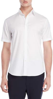 DKNY Tech Poplin Short Sleeve Shirt