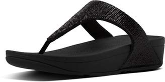 FitFlop Electra Micro-Sequin Toe-Thong Sandals