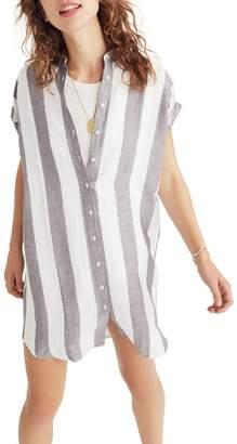 Madewell Maywood Stripe Shirtdress