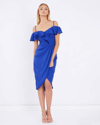 Pharo Ruffle Midi Dress