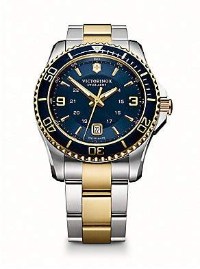 Victorinox Men's Maverick Two-Tone Stainless Steel Bracelet Watch