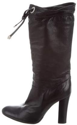 Marc Jacobs Leather Mid-Calf Boots