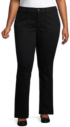 ST. JOHN'S BAY Twill Pant - Plus
