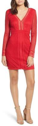 ASTR the Label Mesh Body-Con Dress