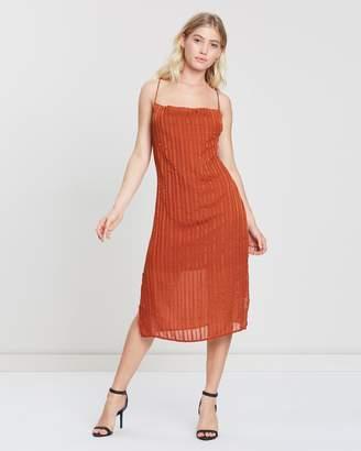 Atmos & Here ICONIC EXCLUSIVE - Sar Cowl Neck Midi Dress