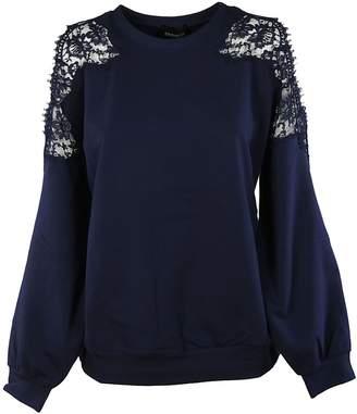 Ermanno Scervino Cut-out Sweatshirt