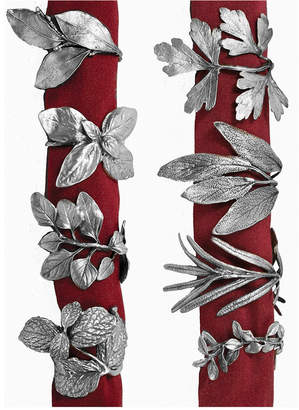 Michael Michaud 8 Herb - Assorted Napkin Rings
