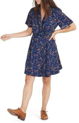 Madewell Amaranth Wrap Dress