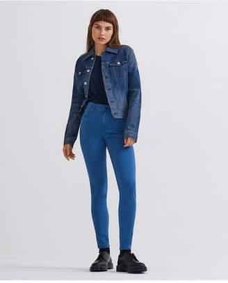 AG Jeans The Farrah Ankle - Sulfur Azurite