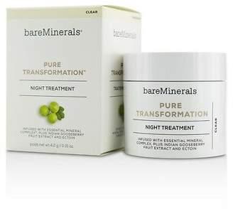 bareMinerals NEW Pure Transformation Night Treatment - Clear 4.2g Womens Skin