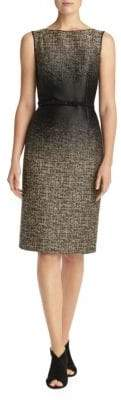 Lafayette 148 New York Paulette Belted Sheath Dress