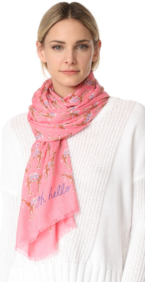 Kate Spade New York Camel March Oblong Scarf $78 thestylecure.com