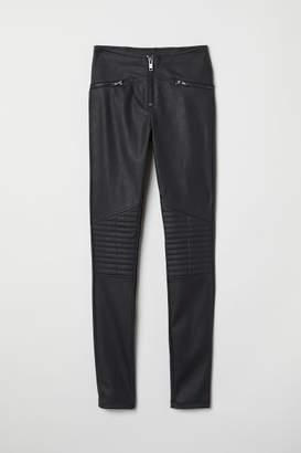 H&M Biker Leggings - Black