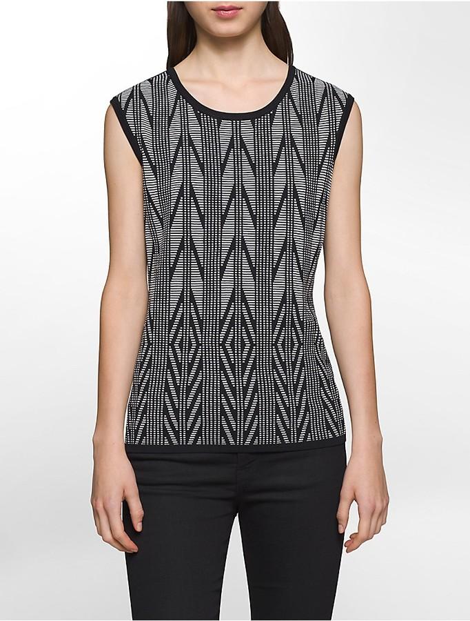 Calvin KleinJacquard Pattern Shell