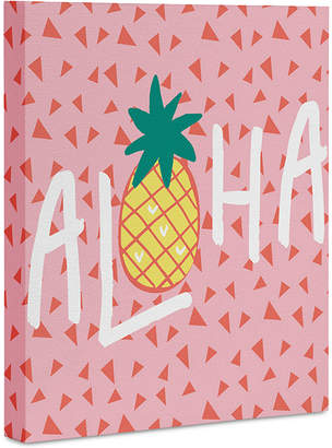 Deny Designs Zoe Wodarz Aloha Darling Art Canvas 8x10""