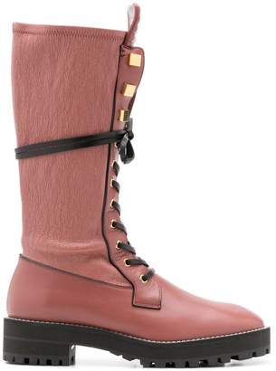 Stuart Weitzman Elspeth Turin boots oversized t