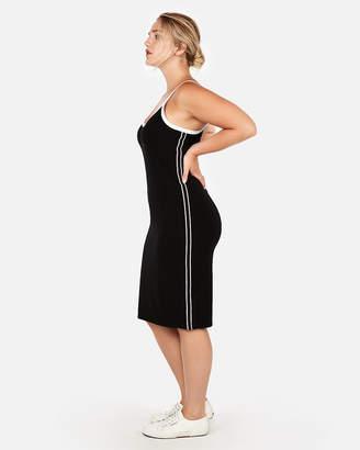Express Side Stripe Midi Dress