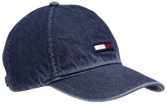 0bd2d3ff Tommy Hilfiger Tommy Jeans Denim Flag Cap