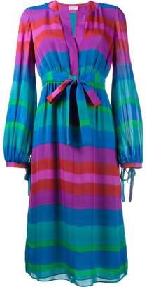 Etro stripe long sleeve dress
