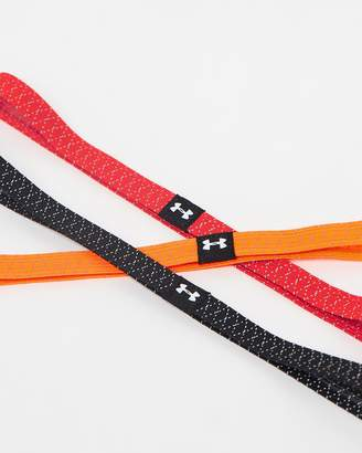 Under Armour Reflective Mini Headbands - 3 Pack